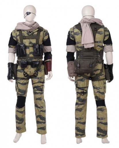 Metal Gear Solid 5 The Phantom Pain Snake Cosplay Costume