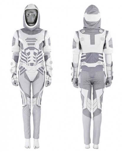 Ant Man and the Wasp Ava Ghost Cosplay Costume