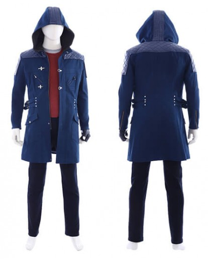 Hot Game Devil May Cry 5 Nero Cosplay Costume