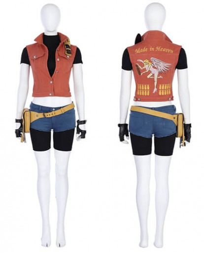 Resident Evil 7 Biohazard Claire Redfield Cosplay Costume