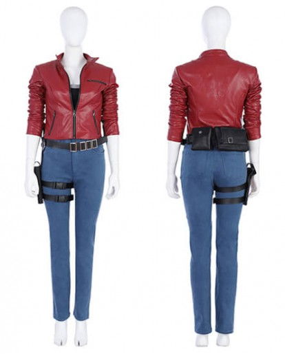 Resident Evil 2 Remake Biohazard Re:2 Claire Redfield Cosplay Costume