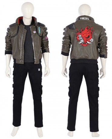 Hot games Cyberpunk 2077 Cosplay Costume Halloween Male Costume