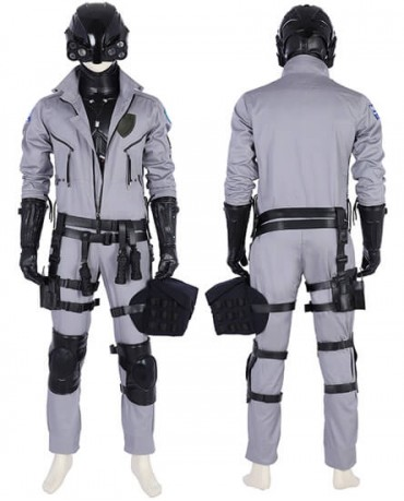 Game Cyberpunk 2077 Cosplay Costume Deluxe Outfit Halloween Costume