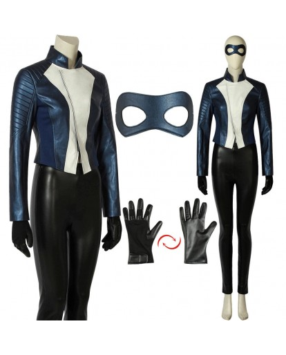 The Flash Season 5 Iris West Costume Superhero Cosplay Costume Halloween Costume