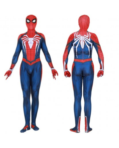 Spider-Man PS4 Game Insomniac Cosplay Costum Superhero Bodysuit