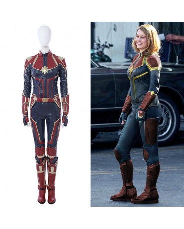 Captain Marvel Costume Carol danvers has worn several costumes over the years as both ms. captain marvel costume