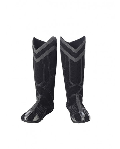 Captain America 3 :Civil War Black Panther Cosplay Boots