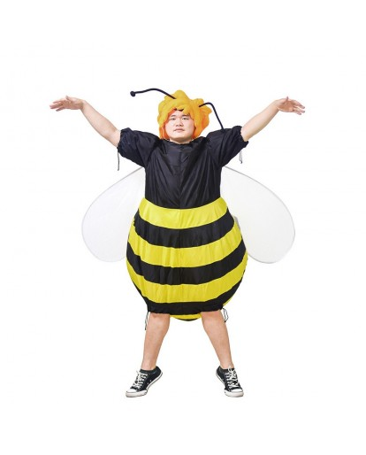 Bumble Bee Inflatable Costume Parade Mascot 2018 Airblown Honey Bee Fat Guy Outfit
