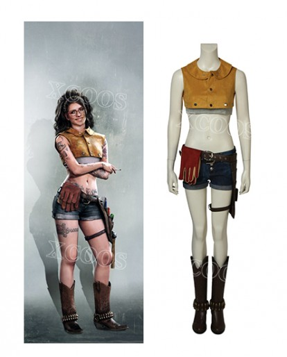 Devil May Cry 5 Cosplay DMC5 NICO Costume Halloween Adult Women Outfit Full Set