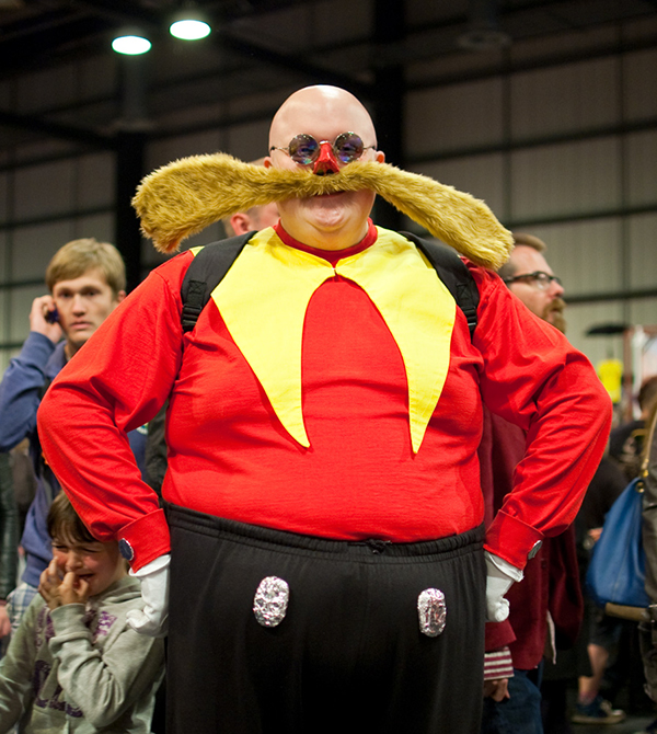 drrobotnik costume is his beardmakes me want to have a try tooif you want to cosplay drrobotnik this yearremember to hide your hair and stay bald