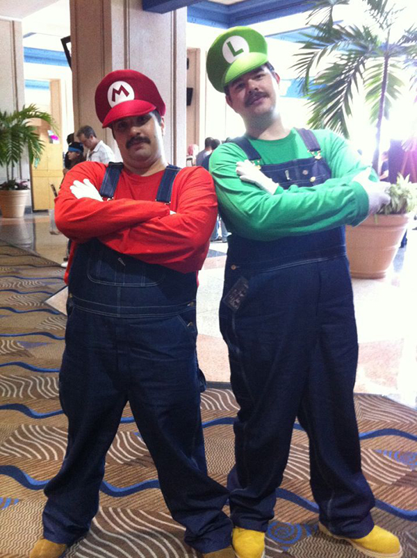 This couple chose to dress as Mario and Luigifrom their first appearance in 1981they are rich with costume ideas.Come on you know you love themthey are ...  sc 1 st  XCOOS & 21 Creative Cosplay Costume Ideas for a Fat Guy | XCOOS BLOG