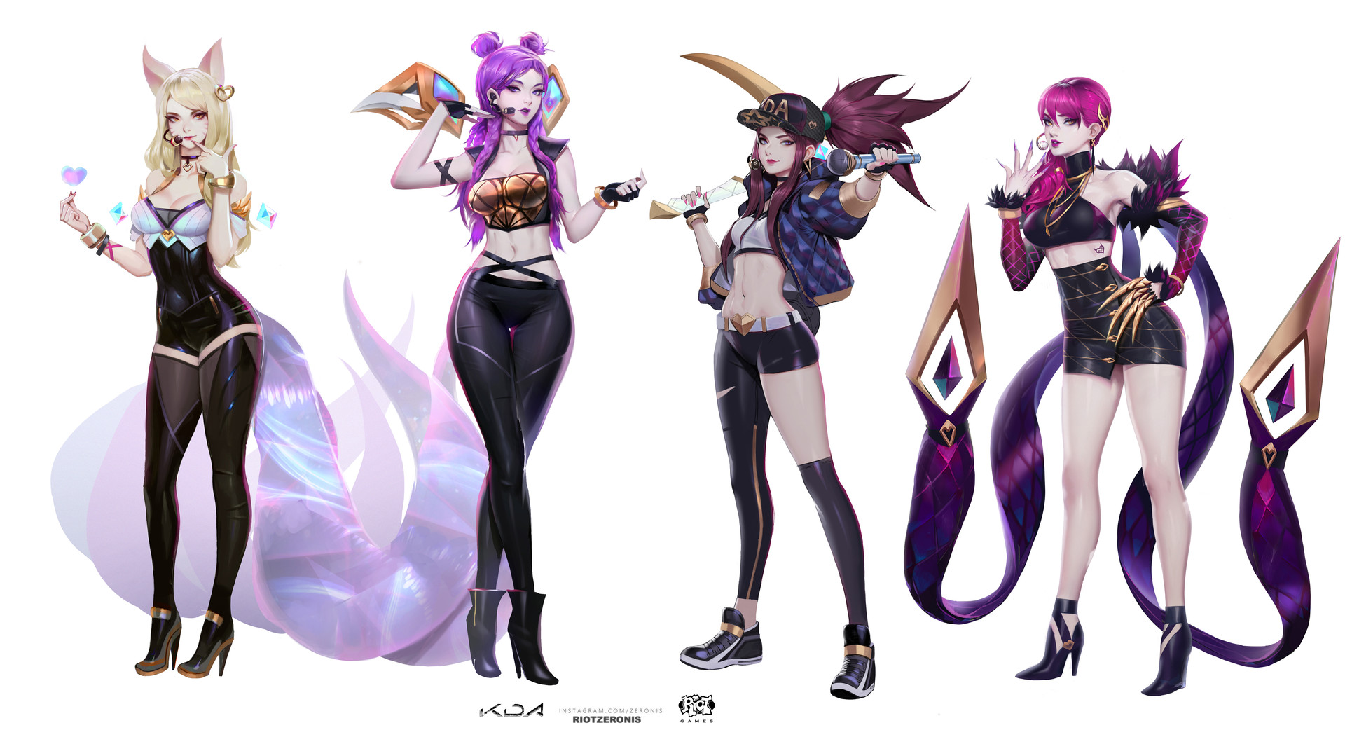 where to buy cheap league of legends kda cosplay with good. Black Bedroom Furniture Sets. Home Design Ideas