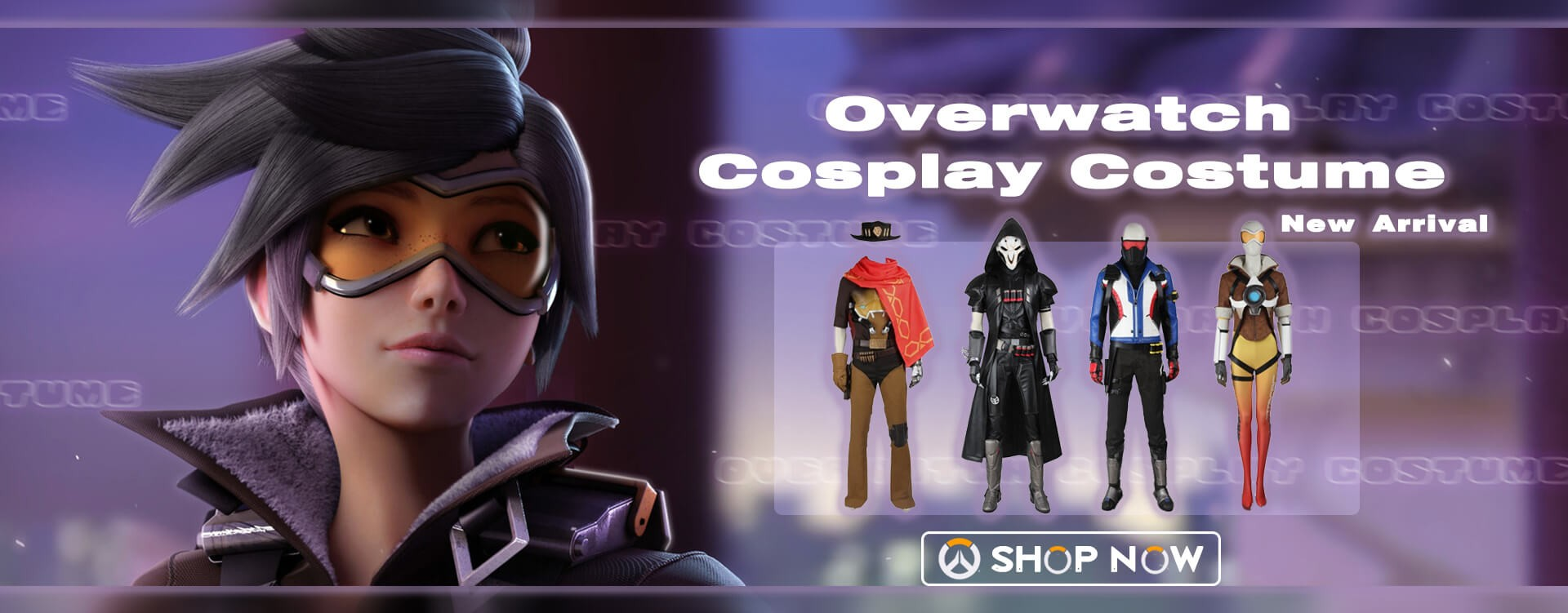 2019 New Arrivals: Overwatch Cosplay Costume