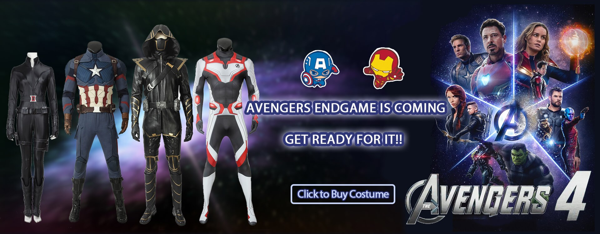 AVENGERS ENDGAME IS COMING, GET READY FOR IT!!