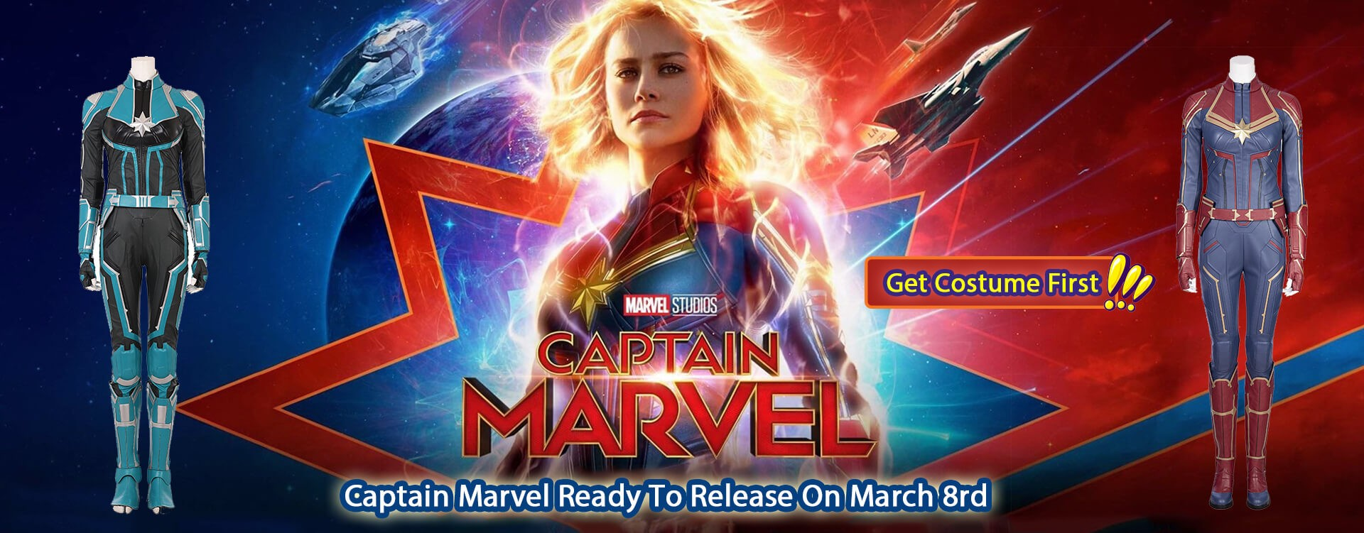 Captain Marvel Ready To Release On March 8rd