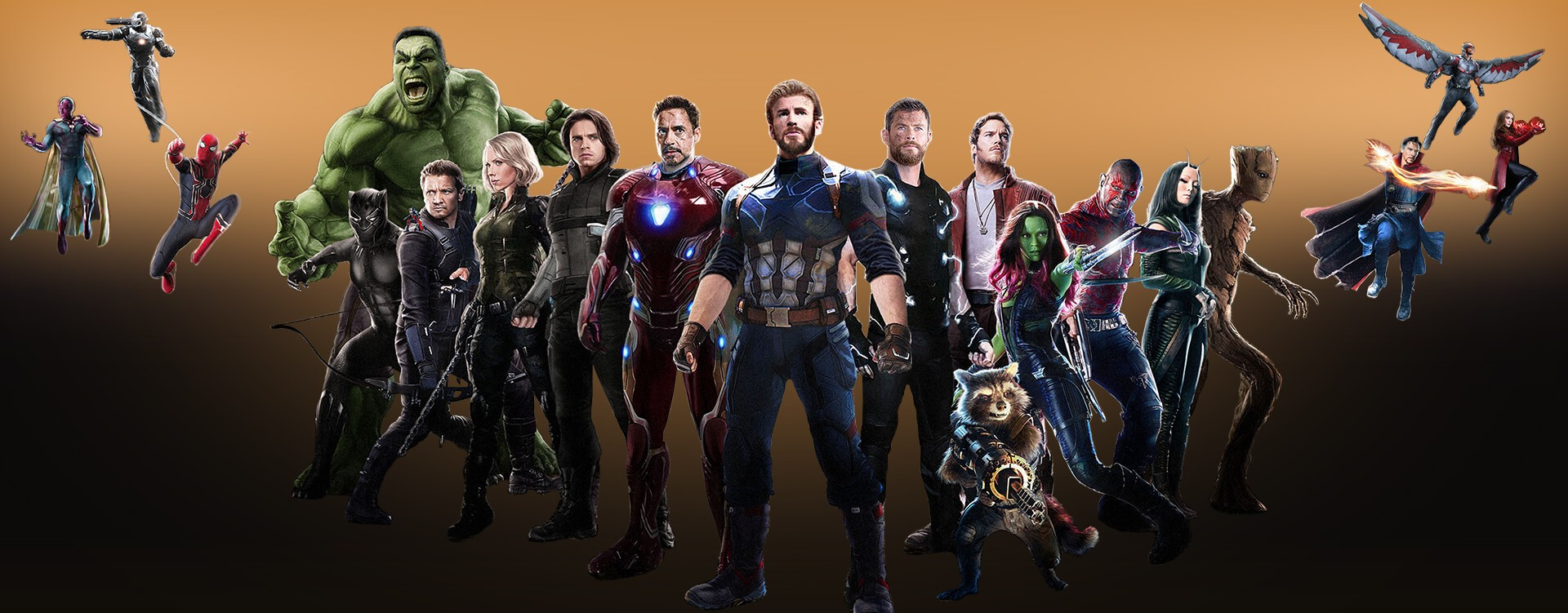 Get ready for THE AVENGERS 3: INFINITY WAR, Select Cosplay Costumes just for you.
